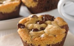 Cookie Brownie Muffin