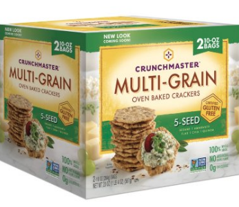 Whole Grain Crackers (review)