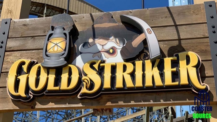 Gold Striker Review! Wooden Coaster at California's Great America.