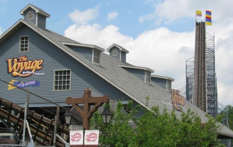 The Voyage: The Massive Wooden Coaster at Holiday World.