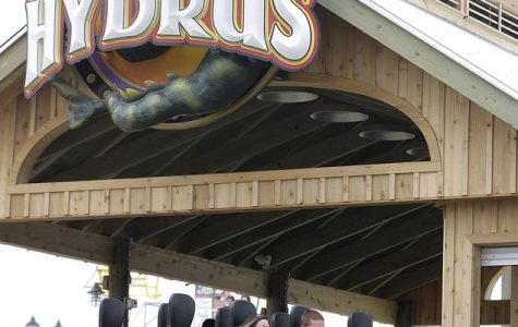 Hydrus: A Pier Roller Coaster at New Jersey's Casino Pier.