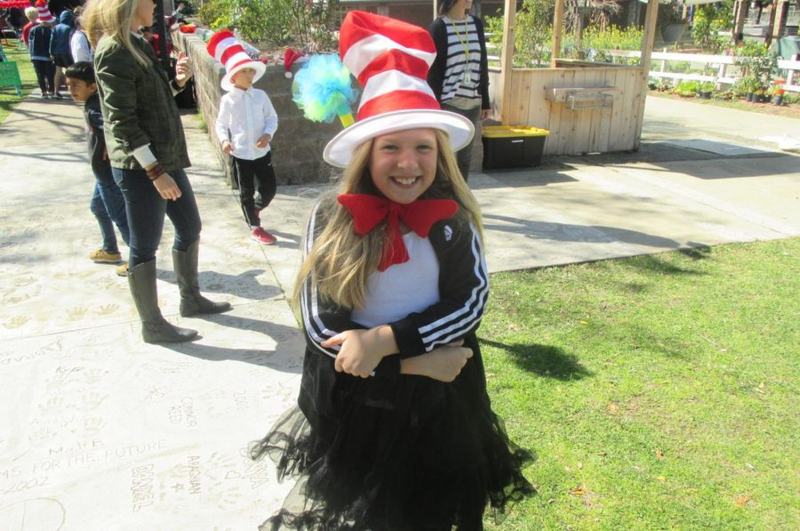 It's Dr. Seuss Day for the Elementary School Students at CRA!