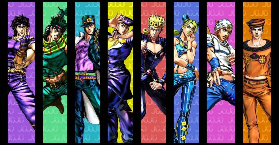 Top 5 reasons to watch JoJo's Bizarre Adventure.