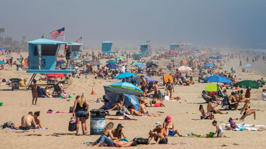 California Beaches Reopening